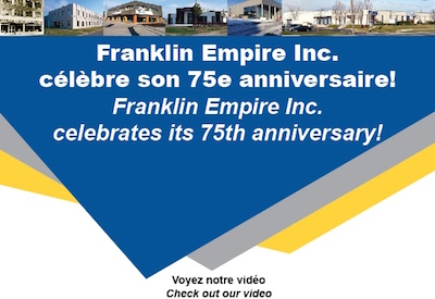 Franklin Empire Celebrates 75th Anniversary