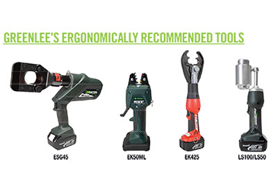 Greenlee Utility Ergonomics tools