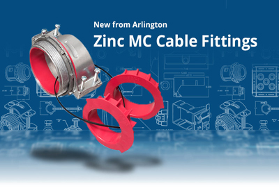 Arlington Zinc MC Cable Fittings